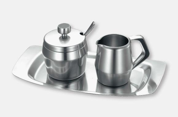 シュガーポット・クリームポット・セットトレー